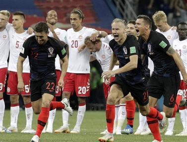 Kroasia, Denmark, Piala Dunia 2018