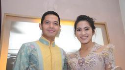 Dude Harlino dan Alyssa Soebandono sering disatukan dalam sinetron ataupun FTV. Hingga akhirnya di bulan Maret 2014, pasangan ini menikah. (Liputan6.com/Rini Suhartini)