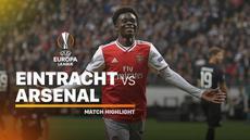 Berita video highlights Liga Europa 2019-2020 antara Eintracht Frankfurt melawan Arsenal yang berakhir dengan skor 0-3, Kamis (19/9/2019).