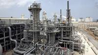 Qatar merupakan salah satu penghasil gas alam cair (LNG) terbesar di dunia  (AP Photos/Maneesh Bakshi, File)