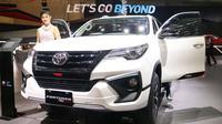 Toyota Fortuner TRD Sportivo hadir di GIIAS 2017. (Herdi Muhardi)