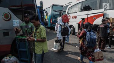 Suasana Terminal Kalideres Jelang Arus Mudik 2019