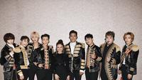 Rossa dan Super Junior (Foto: Twitter)