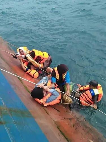 Detik-Detik KM Lestari Maju Tenggelam di Perairan Selayar