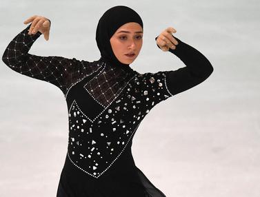 FOTO: Istiqomah dengan Hijab, Prestasi dan Pesona Atlet Internasional ini Tetap Bersinar