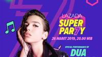 Lazada Berikan Ribuan Undangan Eksklusif Konser Dua Lipa