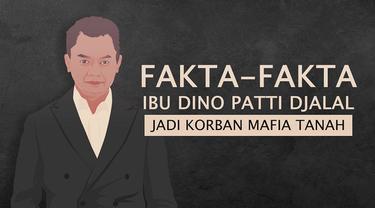 Keluarga mantan Wakil Menteri Luar Negeri Dino Patti Djalal menjadi korban mafia tanah.