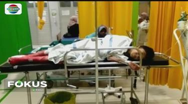 Tiga remaja di Bogor, Jawa Barat, jadi korban ledakan granat jenis nanas. Dua orang alami luka parah, sementara satu orang lainnya meninggal dunia.