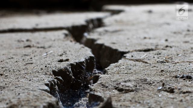 Bangunan di Jembrana Bali Rusak Akibat Gempa Lombok