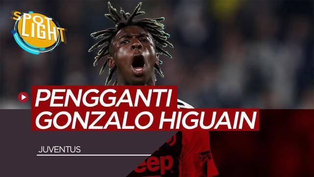 Berita Video Spotlight Luis Suarez, Moise Kean dan 3 Pemain Pengganti Gonzalo Higuain di Juventus