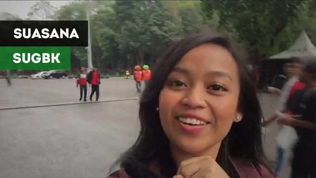 Berita video vlog Bola.com tentang keadaan SUGBK jelang pertandingan Timnas Indonesia vs Timor Lest