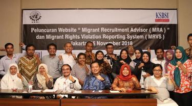 Perlindungan Pekerja Migran Lewat Website MRA dan MRVS