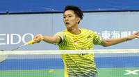 Tunggal putra Indonesia, Muhammad Bayu Pangisthu gagal melangkah ke babak ketiga Taiwan Masters 2016, Rabu (12/10/2016). (PBSI)