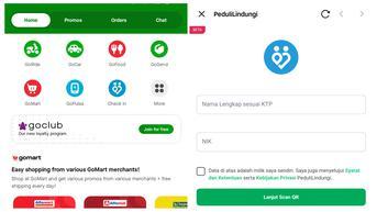 Cara Pakai PeduliLindungi di Aplikasi Gojek