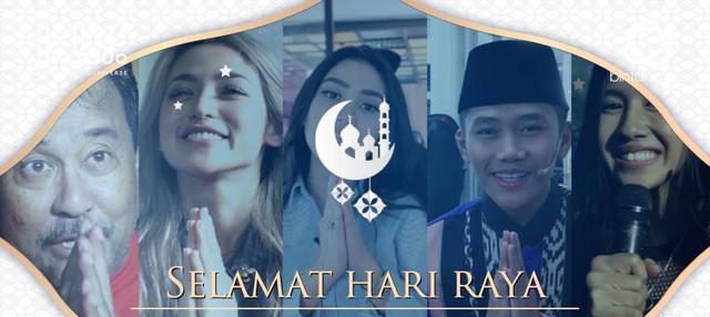 Ucapan Selamat Idul Fitri 1439 H dari Selebriti Tanah Air.