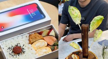 10 Potret Penyajian Makanan Nyeleneh di Restoran, Bikin Bingung Pelanggan