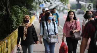 FOTO: Pemprov DKI Bagi Sif Kerja di Masa PSBB Transisi