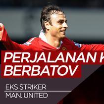 Berita video perjalanan karier eks pemain Manchester United, Dimitar Berbatov.