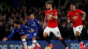 Gelandang Manchester United, Bruno Fernandes.