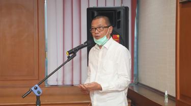 Direktur Jenderal Pembinaan Penempatan Tenaga Kerja dan Perluasan Kesempatan Kerja (Binapenta dan PKK) Kemnaker, Suhartono. (Dok Kemnaker)