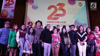Konferensi pers HUT Indosiar yang ke-23. (Liputan6.com/Fatkhur Rozaq)