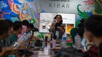 Salah satu agenda dalam kegiatan MAKE SMTHG Greenpeace yang digelar jelang Harbolnas 2018. (dok.  © Jurnasyanto Sukarno/ Greenpeace/Dinny Mutiah)