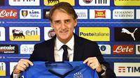 Roberto Mancini ditunjuk sebagai pelatih timnas Italia. (Claudio Giovannini/ANSA via AP)