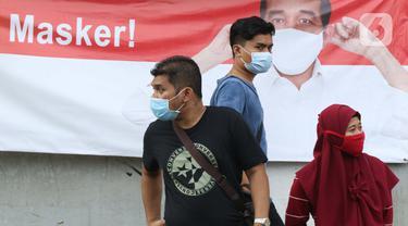 FOTO: Kasus Positif Covid-19 di Jakarta Masih Tinggi