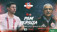 Shopee Liga 1 - PSM Makassar Vs Persija Jakarta - Head to Head Pelatih (Bola.com/Adreanus Titus)