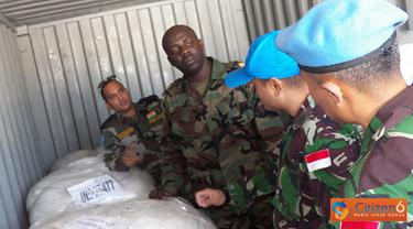 Citizen6, Lebanon: Selanjutnya tim melakukan pemeriksaan dengan meninjau Gudang Frozen (yang berisi daging serta ikan), Gudang Dray baik yang Reserve maupun yang harian. (Pengirim: Badarudin Bakri)