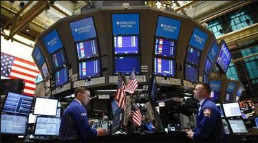 Wall Street Tertekan Kena Imbas Krisis Yunani