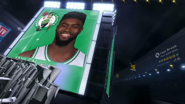 Berita video game recap NBA 2017-2018 antara Milwaukee Bucks melawan Boston Celtics dengan skor 104-102.