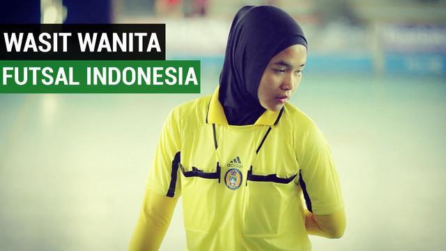 Berita video mengenai kiprah wanita Indonesia bernama Tita Puspita Sari yang ditunjuk menjadi wasit cabang Futsal di Asian Indoor Games 2017
