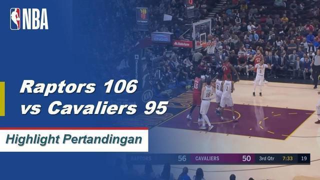 Kahwi Leonard mencetak 34 poin membawa Raptors melanjutkan kemenangan 8 beruntun dengan mengalahkan Cavaliers