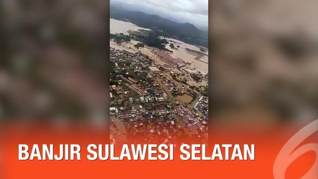 Jumlah korban akibat banjir dan longsor di sejumlah kabupaten dan kota di Sulawesi Selatan terus bertambah.