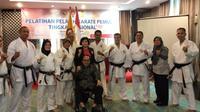 PB Lemkari terpecah tapi tetap menggelar kejurnas karate yang memperebutkan Piala Anton Lesiangi I di UPI Bandung (istimewa)