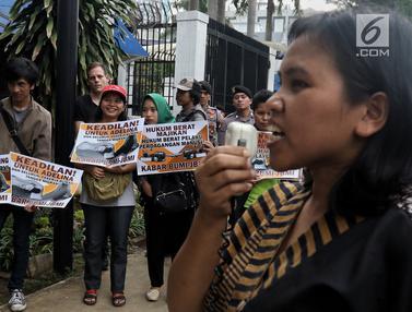 Geruduk Kedubes Malaysia, Massa Kecam Pembebasan Majikan Adelina Sau