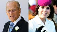 Tak seperti pernikahan Pangerna Harry dan Meghan Markle, Pangeran Philip kabarnya tak akan hadir di pernikahan Putri Eugenie yang juga sebagai cucunya. (AFP/Gareth FULLER-PAUL ELLIS)