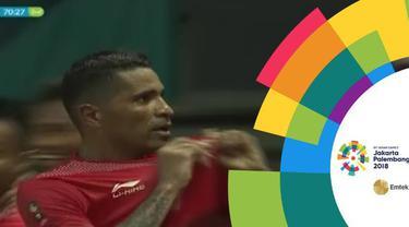 Berita video momen gol Timnas Indonesia U-23 ke gawang Chinese Taipei berkat kerja sama Beto Goncalves dan Stefano Lilipaly pada cabang sepak bola putra Asian Games 2018.