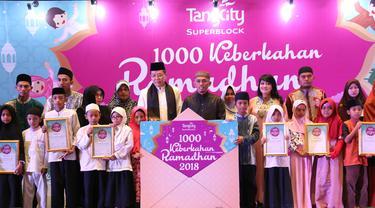 Berbagi Berkah Ramadan dengan 1000 Anak Yatim