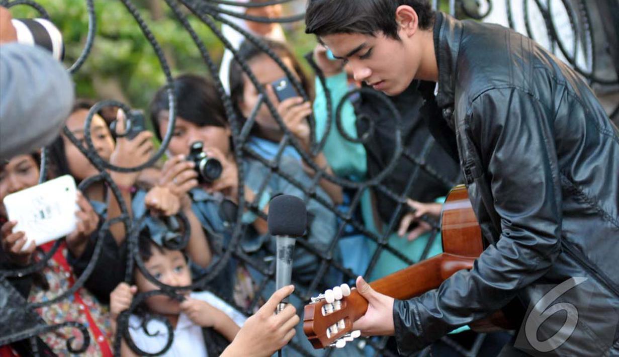 Aliando Syarief tengah menjadi idola baru ABG di tanah air, Jakarta, Jumat (11/07/2014) (Liputan6.com/Panji Diksana)