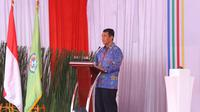 Menteri Pertanian (Mentan) Andi Amran Sulaiman di Tangerang, Banten.