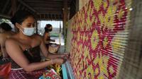 Kain Tenun Pegringsingan Bali