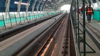 LRT Jabodebek Tabrakan di Jalur Layang Cibubur, Adhi Karya Kirim Tim ke Lapangan