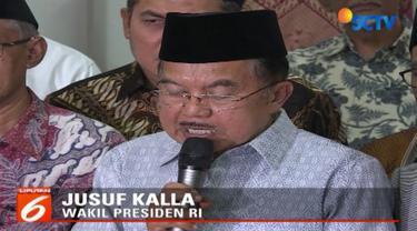 JK dan pimpinan ormas islam sepakat untuk menjaga perdamaian di Indonesia dan meminta agar kasus pembakaran bendera bertuliskan kalimat tauhid tidak sampai memicu perpecahan bangsa.
