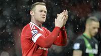 2. Wayne Rooney - Pria asal Inggris ini menempati posisi ke dua sebagai bomber paling ganas di Premier League. Mantan striker Manchester United ini telah mencetak 208 gol dari 491 laga. (AFP/Paul Ellis)