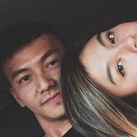 Wijaya Saputra dan Agnes Monica (Instagram/@saputrawijaya)
