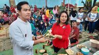 Gibran Rakabuming Raka merupakan saingan Achmad Purnomo untuk mendapatkan rekomendasi sebagai calin Wali Kota Solo melalui PDIP.(Liputan6.com/Fajar Abrori)