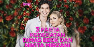 Bagaimana fakta kedekatan Dimas Beck dan Nikita Mirzani? Yuk, kita cek video di atas!