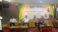 Rapat Koordinasi Wilayah Masyarakat Peduli Badan Penyelenggara Jaminan Sosial (Rakorwil MP BPJS) Malaysia. (Liputan6.com/ Istimewa)
